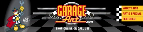 Garage Art - Vintage Automotive Signs & More